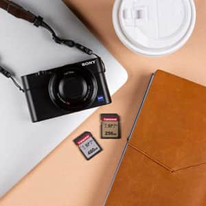 Transcend 256GB SDXC/SDHC 300S Memory Card TS256GSDC300S for $37