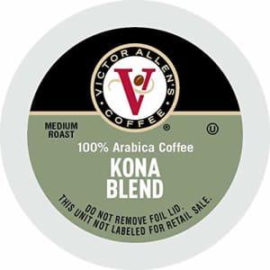 Victor Allen's Kona Blend Medium Roast K-Cup Coffee Pods 80-Pack for $26