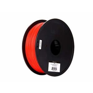 Monoprice - 133877 PLA Plus+ Premium 3D Filament - Red - 1kg Spool, 1.75mm Thick | Biodegradable | for $21