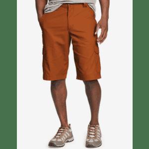 Eddie Bauer Men's Timber Edge Ripstop Cargo Shorts for $24