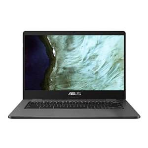 """Asus Chromebook Celeron Apollo Lake 14"""" Laptop for $180"""