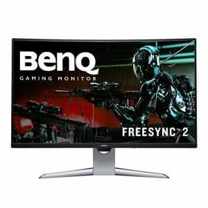 "BenQ EX3203R 32"" Curve HDR 144Hz Gaming Monitor, WQHD, Freesync2, Ultra Slim Bezel, Brightness for $320"