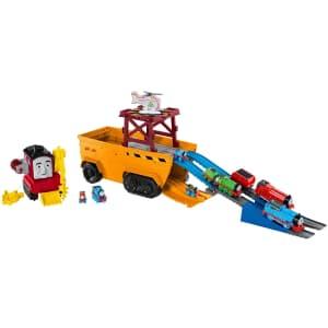 Thomas & Friends Super Cruiser Transforming Train Track Set for $37