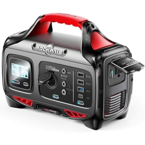 Rockpals 200W Portable Power Station for $190