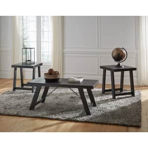 Signature Design by Ashley Noorbrook Casual 3-Piece Table Set for $241