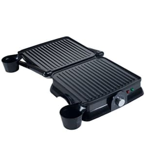Chef Buddy 80-KIT1019 Panini Press Indoor Grill and Gourmet Sandwich Maker, Electric with Nonstick for $49