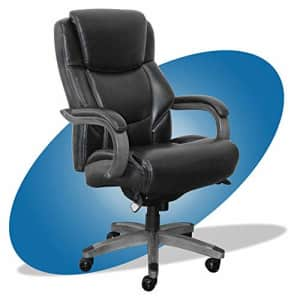 La-Z-Boy Delano Big & Tall Executive Office Chair | High Back Ergonomic Lumbar Support, Bonded for $333
