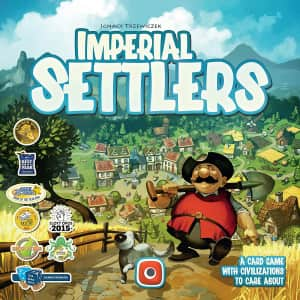 Portal Games Imperial Settlers Board Game for $38