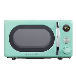 Galanz GLCMKA07GNR-07 Retro Microwave Oven, 0.7 Cu.Ft, Surf Green for $65