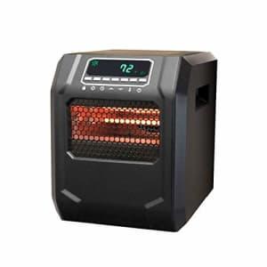 Lifesmart ZCHT1056US 4-Element Infrared Bulb Heater, Black for $102