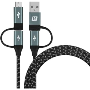 Momax Multi 4-in-1 USB Fast Charging Cable for $13