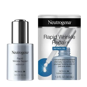 Neutrogena Rapid Wrinkle Repair 1-oz. Retinol Oil for $13 via Sub & Save