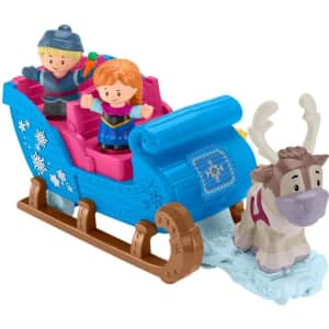 Fisher-Price Little People: Disney Frozen Kristoff's Sleigh for $40