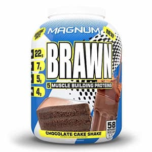 Magnum Brawn, Low-Lactose Protein Mix, Chocolate for $55