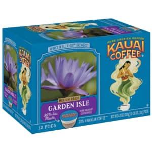 Kauai Coffee Single-Serve Pods 12-Count for $8.49 via Sub & Save