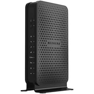 NETGEAR C3700-100NAR C3700-NAR DOCSIS 3.0 WiFi Cable Modem Router with N600 8x4 Download speeds for for $111
