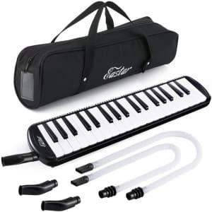 Eastar 37-Key Melodica Keyboard w/ Mouthpiece for $24