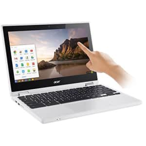 """Acer - R 11 CB5-132T-C8ZW 2-in-1 11.6"""" Touch-Screen Chromebook - Intel Celeron - 4GB Memory - 16GB for $288"""