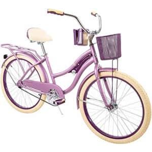 "Huffy 24"" Nel Lusso Women's Cruiser Bike, Purple Satin for $247"