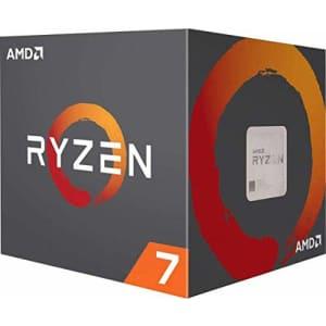AMD Ryzen 7 3800X 8-Core, 16-Thread Unlocked Desktop Processor with Wraith Prism LED Cooler for $350