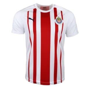 PUMA Men's Chivas Fan 18-19 Fan Jersey for $22