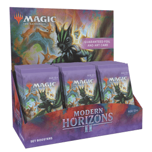 Magic The Gathering: Modern Horizons 2 Set Booster: Preorders for $242