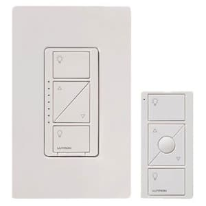 Lutron Caseta Wireless Smart Lighting Dimmer Switch and Remote Kit for Wall & Ceiling Lights, for $50