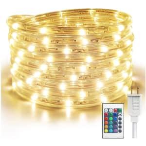 Salking 16.4-Foot LED Rope Lights for $9