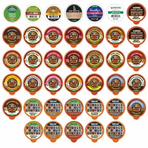 Crazy Cups Decaf Flavored Coffee 40-Count Variety Pack for $19