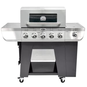 Cuisinart 3-in-1 5-Burner Stainless Steel Propane Gas Grill for $346