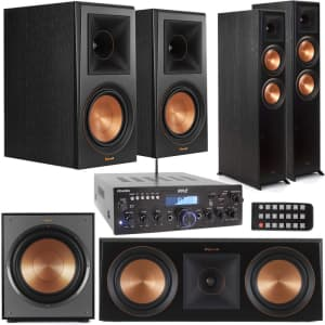 Klipsch Reference Premiere Home Theater Bundle w/ Pyle Bluetooth Receiver for $1,999