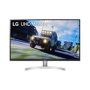 LG 32UN500-W 32 Inch UHD (3840 x 2160) VA Display with AMD FreeSync, DCI-P3 90% Color Gamut, HDR10 for $399