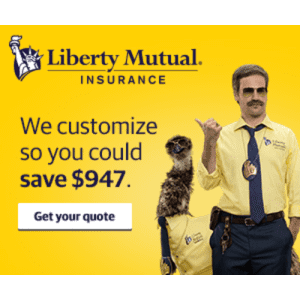 Liberty Mutual Home and Auto Insurance: Save up to $947