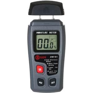 Skyeen Portable Hygrometer/Wood Moisture Meter for $10