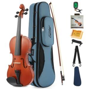 Eastar 1/4 Beginner Violin Set for $73