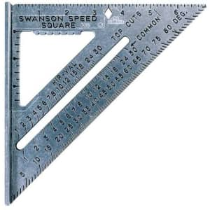 """Swanson Tool Co. 7"""" Speed Square for $11"""