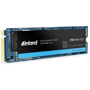 Inland Platinum 2TB NVMe PCIe M.2 SSD for $195