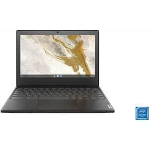 Lenovo 11.6inch Chromebook, Intel Celeron N4020 Dual-Core Processor, 4GB RAM, 32GB eMMC SSD, WiFi, for $130