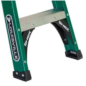 Louisville Ladder FS4006, 6-Foot, Green, 6 Feet for $133