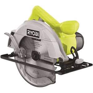 "Ryobi 13 Amp 7-1/4"" Adjustable Electric Circular Saw w/Bevel Adjustment | CSB125 for $61"