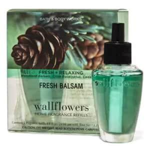 Wallflower Refill 2-Packs at Bath & Body Works: for $7