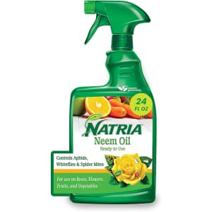 Natria Neem Oil Organic Insect Killer & Disease Control 24-oz. Ready-to-Use Spray for $10