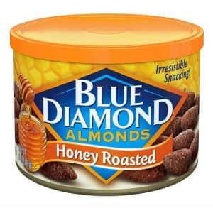 Blue Diamond 6-oz. Honey Roasted Almonds 12-Pack for $18 via Sub & Save