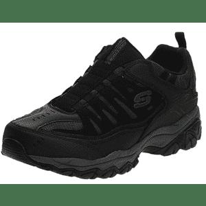 Skechers Sport Men's Afterburn Memory Foam Shoes (Wide Sizes) for $30