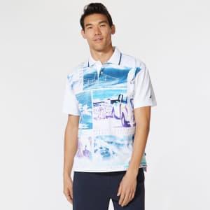 Nautica Men's Surf Club Graphic Polo for $22