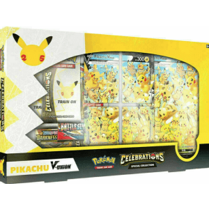 Pokemon TCG: Celebrations Special Collection Pikachu V-Union for $57 preorder