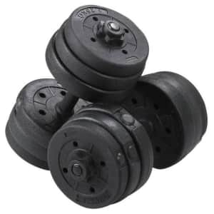 Yaheetech 44-lb. Dumbbell Set for $40