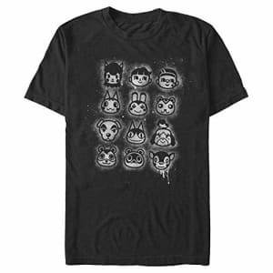 Nintendo Men's T-Shirt, Black, Medium for $17