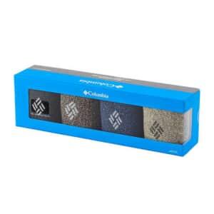 Columbia 4-Pack Crew Socks Gift Box for $7