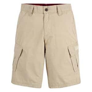 Levi's Boys' Cargo Shorts, Fog, 7XL for $12
